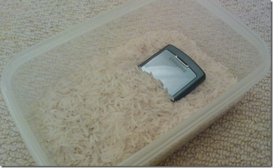 phone-rice-partburied